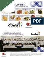 Recetario Gourmet