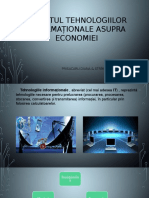 Impactul Tehnologiilor Informaționale Asupra Economiei