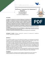 Mejoramiento Del Proceso Constructivo de Guarniciones y Banquetado