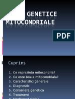 Boli Genetice Mitocondriale (2)