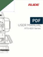 Rts-820 Series User Manual