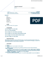 Linux Certif - Man Arp(8)