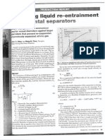Predicting Liquid Re-Entrainment in Horizontal Separators