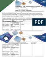 Guía de Actividades y Rúbrica de Evaluación – Fase 0 – Exploración
