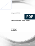 Getting Started Guide Watson Analytics