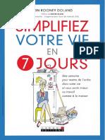Simplifiez Votre Vie en 7 Jours - Leduc's Editions