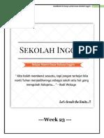 Handbook Week 23