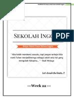 Handbook Week 22