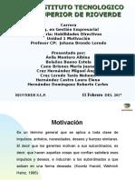 Habilidades Directivas Motivacion