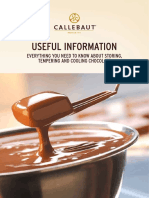 Leaflet Callebaut USEFUL INFO Red