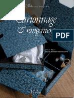 Cartonnage Et Rangement