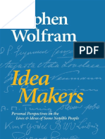 Stephen Wolfram-Idea Makers_ Personal Perspectives on the Lives & Ideas of Some Notable People-Wolfram Media, Inc (2016)