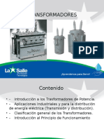 iNTRODUCCIÓN. TRANSFORMADORES