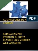 Compresores de Anel Liquido