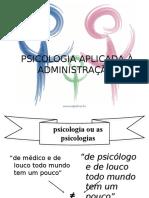 Introducao a Psicologia Administracao