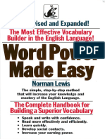 Norman Lewis Word Power Made Easy 1991
