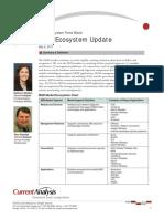 M2M Ecosystem Update