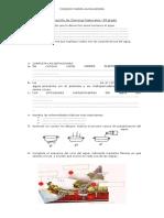 Evaluación de Ciencias Naturales