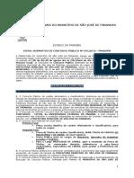 Edital Concurso 2016 Prefeitura Do Município de São José de Piranhas