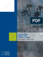 Environment, Energy and Climate Change. a Sourcebook for Political Parties