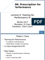 Lecture 9_Training for Performance V