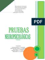 Trabajo - Pruebas Neuropsicológicas