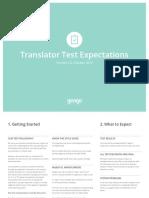 Gengo Test Expectations En
