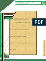 Informe de Practica 5 -Mecanizacion-SISTEMAS DEL TRACTOR