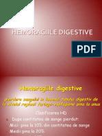 Curs 1- Hemoragiile Digestive