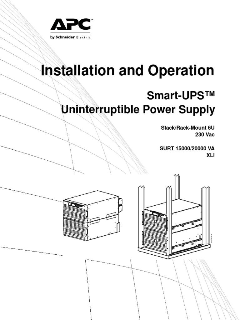 Aste 6z8lvj R6 En Electrical Wiring Menu Computing Apc Epo Diagram