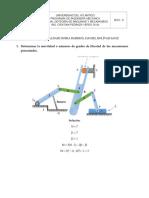 Ejercicios de Teorias de Mecanismos y Maquina