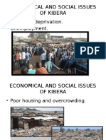 Economical and Social Issues of Kibera