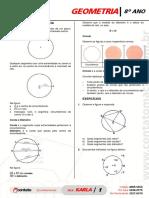 Prof Karla 8 Ano Lista 02 de Geometria 1 Bimestre