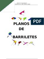 PLANOS DE BARRILETES