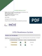 Catia Symbols