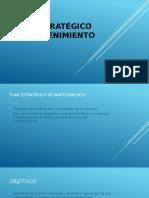 Plan Estratégico de Mantenimiento
