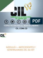 Modulo I Antecedentes y Generalidades CIL
