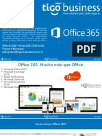 Office 365 TigoBusiness