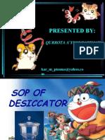SOP of Desiccator