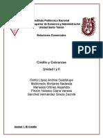 Credito y Cobranzas Unidad 1y 2