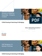 CCNA R&S 6.0 Bridging Instructor Supplemental Material Mod2 RSE