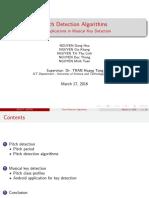 Fundamental Frequency Estimation Algorithms Presentation