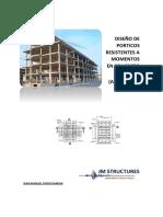 Diseño de Porticos Resistentes a Momentos en Concreto Armado