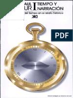 Ricoeur, P. Tiempo y Narración I copia