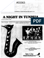 A Night in Tunissia Full Score