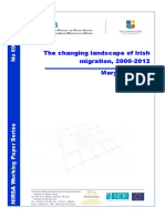 WP69 the Changing Face of Irish Migration 2000 2012