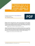 A1 El Septimo Arte en La Publicidad Insertada en Las Revistas Editadas en Portugal 1999 2009