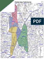 High Resolution Chamblee 2017 Annexation Map