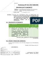 Proforma Neo Domus