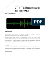 Tesina - Codifica e Compressione Dell'Audio Digitale